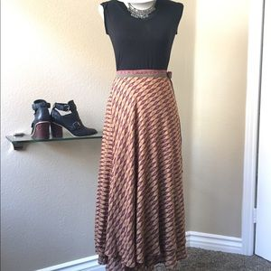 Free people Wrap around skirt